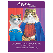 Aujou by Rawz Chicken & Duck Recipe for Cats