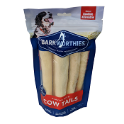 Barkworthies - Beef Chews - Cow Tails Pack