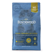 Blackwood Lean/Senior Chicken And Brown Rice Cat Food