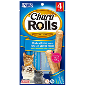Churu Rolls - Chicken Recipe Wraps Tuna With Scallop Recipe