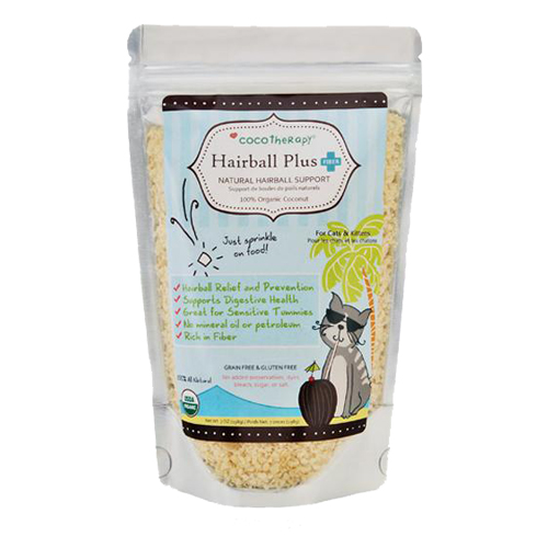 Lukes all natural cocotherapy hairball plus for cats gumiabroncs Images