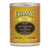 Fromm Chicken & Sweet Potato Pate Canned Dog Food