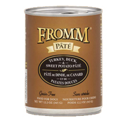 Fromm Turkey, Duck & Sweet Potato Pate Canned Dog Food