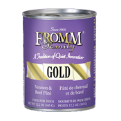 Fromm Gold Venison & Beef Pate Canned Dog Food