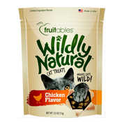 Fruitables Wildly Natural Chicken Cat Treats