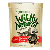 Fruitables Wildly Natural Salmon Cat Treats