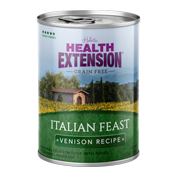 Health Extension Italian Feast Venison Canned Dog Food