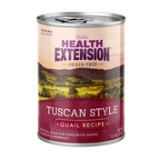 Health Extension Tuscan Style Quail Canned Dog Food