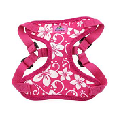Doggie Design - Wrap And Snap Harness - Pink Hibiscus