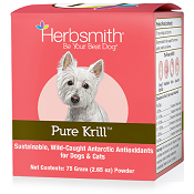 Herbsmith Pure Krill For Dogs & Cats