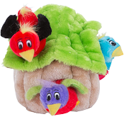 Hide A Bird Plush Puzzle