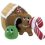 Hide A Gingerbread House Plush Puzzle