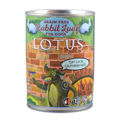 Lotus Grain-Free Rabbit Loaf Canned Dog Food