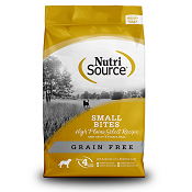 NutriSource Grain Free Small Bites High Plains Select Dog Food