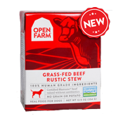Open Farm: Wet Dog Food - Grass-Fed Rustic Beef Stew