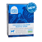 Open Farm: Wet Dog Food - Chicken & Salmon Stew