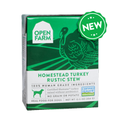 Open Farm: Wet Dog Food - Homestead Turkey Rustic Stew