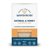 Wondercide Oatmeal & Honey Shampoo Bar for Dogs and Cats