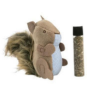 Petlinks Plush Player Squirrel Cat Toy