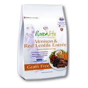 Pure Vita Grain Free Venison Formula for Dogs