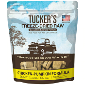 Tucker's Freeze-Dried Dog Food: Chicken And Pumpkin