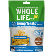 Whole Life Pet Living Treats Cheddar Cheese Dog Treats