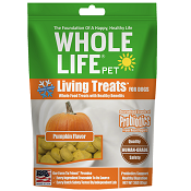 Whole Life Pet Living Treats Pumpkin Blend Dog Treats