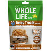 Whole Life Pet Living Treats Peanut Butter Dog Treats