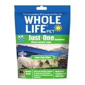 Whole Life Pet Just One Ingredient Cod Dog Treats