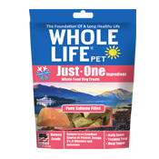 Whole Life Pet Just One Ingredient Salmon Dog Treats