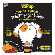 Yoghund Frozen Yogurt - All Natural Pumpkin & Bacon