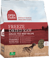 Open Farm: Freeze Dried Dog Food - Grass Fed Beef Recipe
