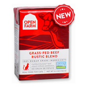 Open Farm: Wet Cat Food - Grass-Fed Beef Rustic Blend