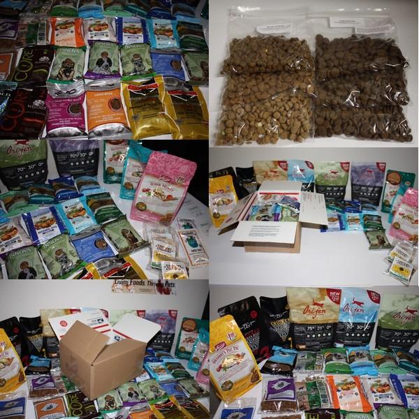dog food samples