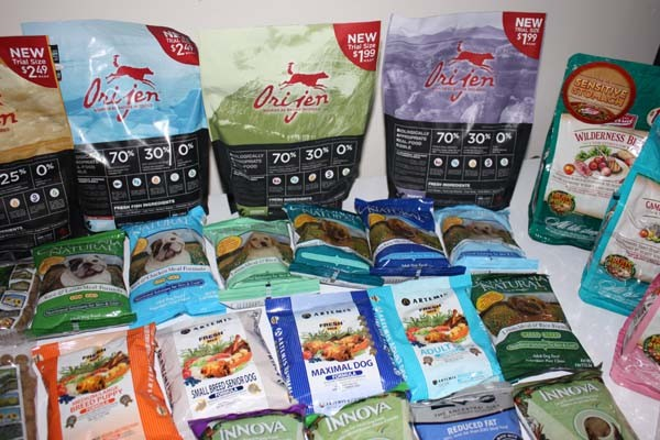 Orijen Dog Food Samples