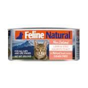 Feline Naturals: Lamb & King Salmon Feast Wet Cat Food