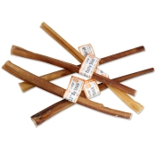 "GoGo Natural Dog Treats: 12"" Odor-Free Bully Sticks"
