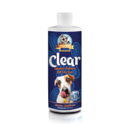 Pet Kiss: CLEAR - Odorless Tasteless Water Additive 32 oz