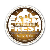Farm Fresh: RAW - Turkey Blend - Fresh Dog Food