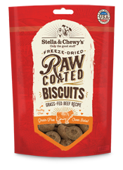 Stella & Chewy's: Raw Coated Biscuits - Grass-Fed Beef