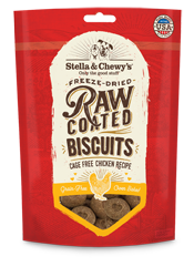 Stella & Chewy's: Raw Coated Biscuits - Cage-Free Chicken