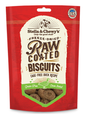 Stella & Chewy's: Raw Coated Biscuits - Cage-Free Duck