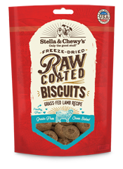 Stella & Chewy's: Raw Coated Biscuits - Grass-Fed Lamb