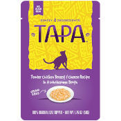 Tapa Chicken Breast & Cheese Recipe Cat Pouch