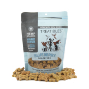 Treatibles: Grain-Free Blueberry PCR Hard Chews - Small 14ct