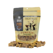Treatibles: Grain-Free Pumpkin PCR Hard Chews - 14ct