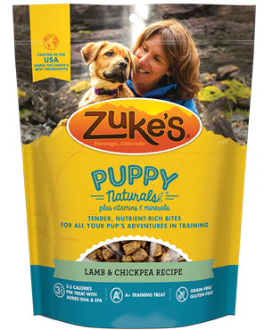 Zuke's PUPPY Naturals for Dogs - Lamb & Chickpea