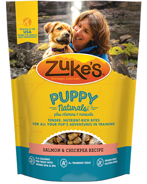 Zuke's PUPPY Naturals for Dogs - Salmon & Chickpea